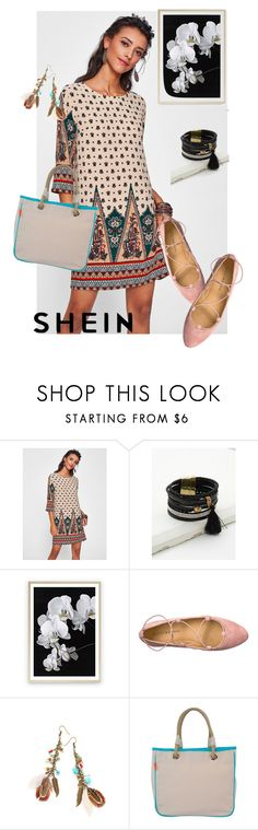 """dress  Shein"" by masayuki4499 ❤ liked on Polyvore featuring Lucky Brand, WithChic and CB Station"