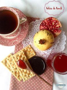 Sugar Bites: Geleia de Romã