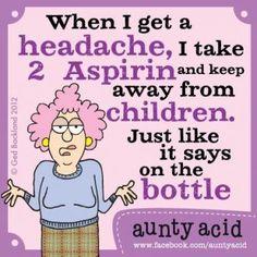 When I Get A Headache (16 pieces)