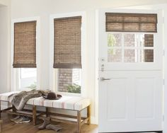 Wendy Bellissimo Natural Woven Waterfall Shades - 16828, Wendy Bellissimo…