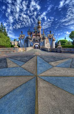 The Beauty of Sleeping #Disneyland #Castle