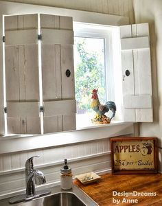 make charming window shutters for 10 design dreams by anne featured on http