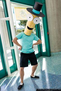 Mr. Poopybutthole (Rick and Morty) #Comikaze 2015