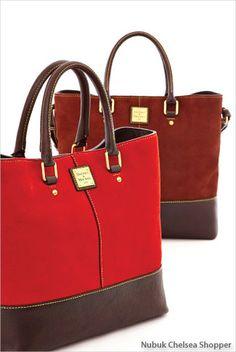 Dooney & Bourke: Nubuk Chelsea Shopper