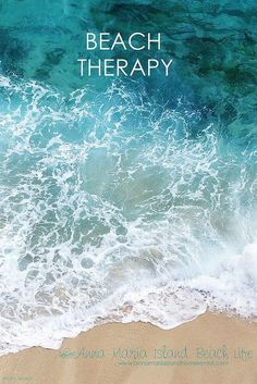 Beach Therapy - 50 Warm and Sunny Beach Therapy Quotes - Style Estate -