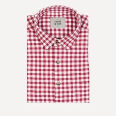 Frank & Oak - Griffin Shirt in Cherry