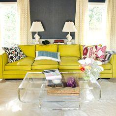 Upholstered Base Sofa - Interior Design Ideas