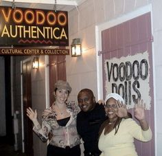 Voodoo Authentica, French Quarter, New Orleans - This is a real shop. When we visited, the lady working there was kind enough to answer our questions. She said she would only assist in potions meant to do good. She would not help with negative potions or with curses.