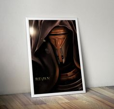 Knights of the Old Republic  Revan Portrait 24x36 by FPArtistry