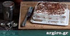 Τιραμισού χωρίς αυγά από την Αργυρώ Μπαρμπαρίγου   Ένα τέλειο γλυκό, πιο ελαφρύ και αέρινο, με όλη τη μαγική γεύση που γνωρίζουμε. Δοκιμάστε το!