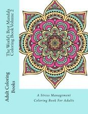 IN OZ World's Best Mandala Coloring Book Vol 2 A Stress Management
