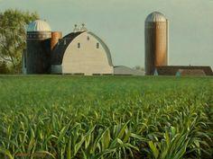 Heartland 9x12, painting by artist George Lockwood