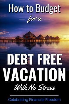 A simple budgeting trick to help you take a debt free vacation. You don't need to take on debt for your next trip! How to have a no debt, no stress vacation Freedom Travel, Freedom Life, Savings Planner, Budget Planner, Personal Finance Articles, Debt Free Living, Free Vacations, Frugal Living Tips, Debt Payoff
