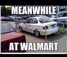 Funny pictures about Walmart Parking Fail. Oh, and cool pics about Walmart Parking Fail. Also, Walmart Parking Fail. People Of Walmart, Funny People, Stupid People, People Failing, Crazy People, Walmart Humor, Walmart Shoppers, Walmart Stores, Walmart Lustig