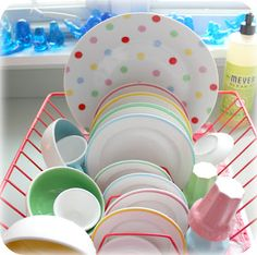 who knew the dishes could look so fun?