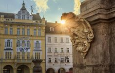 -- Samson´s Fountain -- - České Budějovice, Czech Republic…