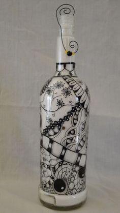 Doodles inspired by Zentangles.