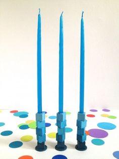 DIY Mini Candle Holders Ideas
