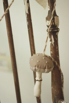 la maison boop!: ☁▵Petite Forêt▵☁ fabric plushed garlands ♥ nordic alps mushroom and pine tree
