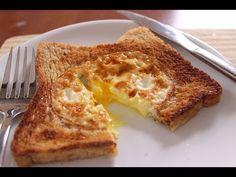 YUMURTALI AMERİKAN TOSTU - Tost Tarifleri, koklay tarifler, ekmek tariferli CANANDAN-TARİFLER.COM - YouTube