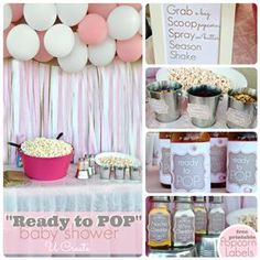 Baby Shower Party Gifts Ready To Pop Ideas Diy Shower, Baby Shower Favors, Shower Party, Baby Shower Parties, Baby Shower Themes, Baby Shower Decorations, Baby Shower Gifts, Shower Ideas, Shower Tips