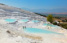 Things to do in Marmaris away from the beach | Visit Pamukkale hot springs #Turkey #travel