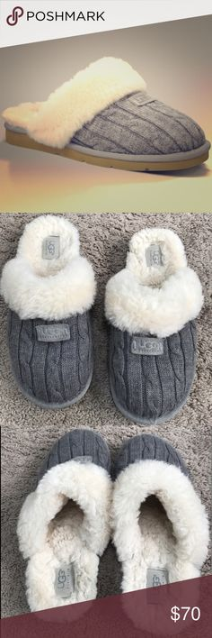 ⭐️FLASH SALE⭐️Grey Ugg Slippers Size 8 These Ugg Grey Slippers are adorable and comfy as can be! They have only been worn a handful of times and have a ton of life left to them! PRICE IS FIRM UGG Shoes Slippers Ugg Snow Boots, Winter Snow Boots, Grey Ugg Slippers, Uggs With Bows, Birthday Outfit For Women, Manolo Blahnik Heels, Milan Fashion Weeks, Winter Outfits, Gucci Slipper