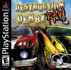 Destruction Derby Raw Sony Playstation