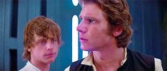 Luke's face is everything || Star Wars || Han Solo ~ Luke Skywalker