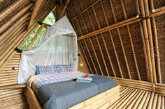 Check out this awesome listing on Airbnb: Eco Bamboo Home with water wheel - Houses for Rent in Selat