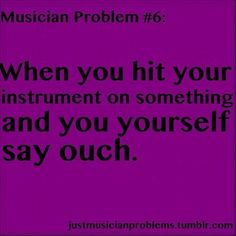 I used to do this...I used to bike to my friend's house with my viola and sometimes it'd crash into things