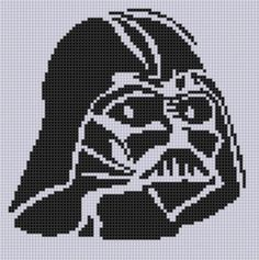 Darth Vader Stitch Pattern