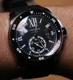Cartier Calibre Diver Watch Hands-On