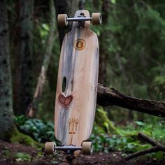 Beetle Killed Longboard Deck- by Beetlekilled
