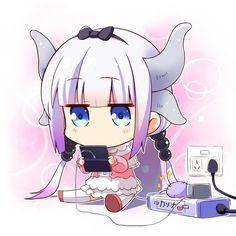 Kanna Kamui by ★Yuuki☆ | Miss Kobayashi's Dragon Maid | Know Your Meme