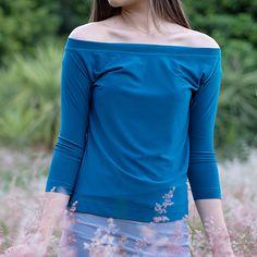 Off Shoulder Blouse, Off The Shoulder, Shoulder Length, Shirt Sleeves, Slim, Tops, Dresses, Women, Fashion