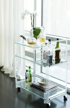 Nancy Nolan Photography | Vintage Bar Cart