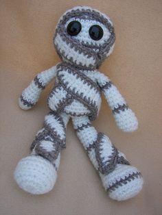Mumford Mummy Crochet Amigurumi Pattern by CraftyDebDesigns, $2.98
