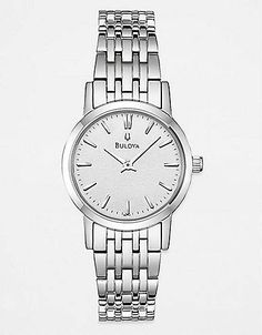 Women's Round Crystal Stainless Steel Watch | Lord and Taylor