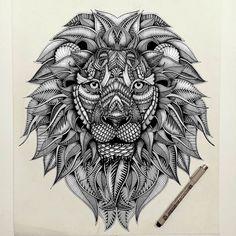 Dropbox - tête de lion tatouage dessin.jpg