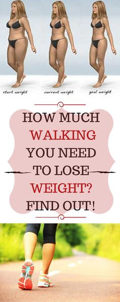 .HOW MUCH WALKING YOU NEED TO LOSE WEIGHT FIND OUT!.