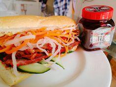 Banh Mi Pulled Pork, Sun, Ethnic Recipes, Food, Shredded Pork, Essen, Meals, Yemek, Eten
