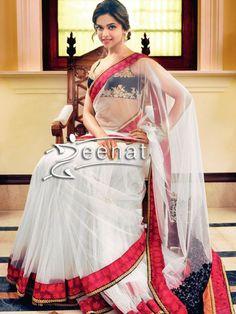 Deepika Padukone In Designer Sabyasachi Saree