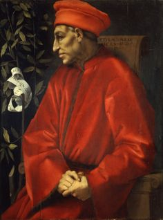 Cosimo di Medici, 1389-1464, founder of the dynasty, Duke of Tuscany, and de facto ruler of Florence. His wealth was vast, as was his power. He was a great patron of the arts.