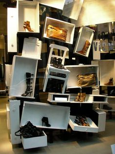 Very creative use of drawers.