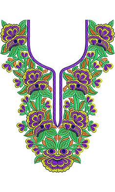 South Asian Textile Trend | Dress Embroidery Design