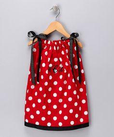 Could make an adorable UGA dress!