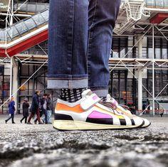 Pierre Hardy Sneakers. #pierrehardy #centrepompidou #paris