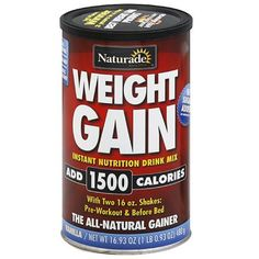 Naturade Weight Gain Instant Nutrition Drink Mix Review