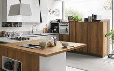 cucina Stosa Cucine Infinity composizione tipo 02 | Kitchens ...
